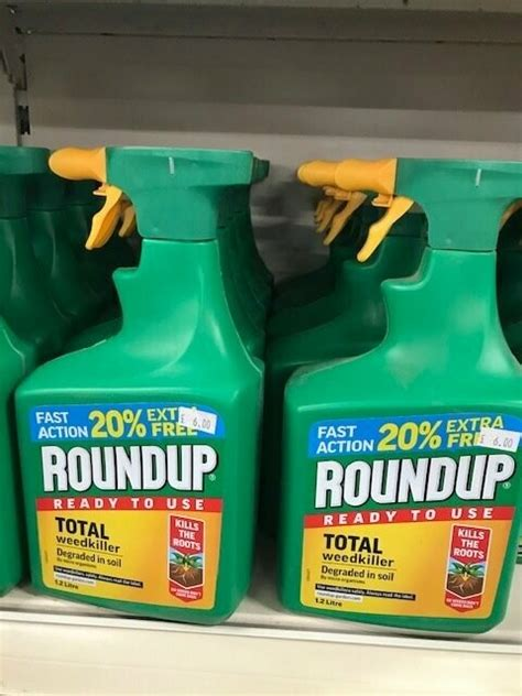 roundup weed killer  ltr ready