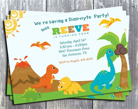 printable birthday cards dinosaur free free printable dinosaur birthday invitations dolanpedia