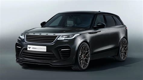 land rover velar svr vorschau automotive range rover velar im svr look