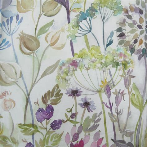 country curtain fabric voyage hedgerow cream curtain factory outlet
