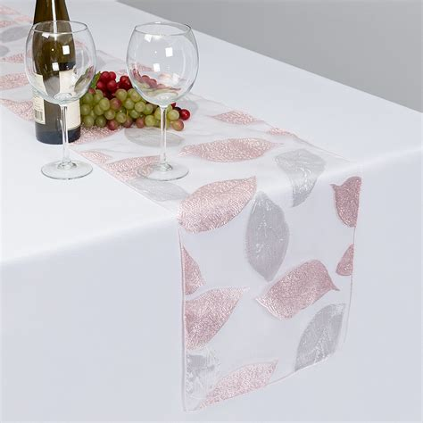 lighted snow blanket table runner stretch banquet chair cover linen tablecloth