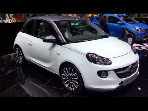 Opels Unlimited by Opel Adam Unlimited 2016 In Detail Review Walkaround