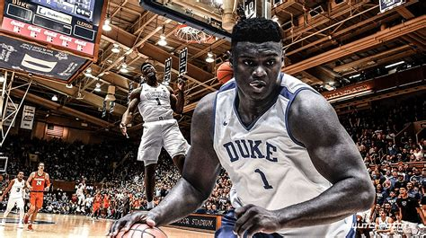 nba draft news zion williamson calls his 360 dunk a 7 or 8