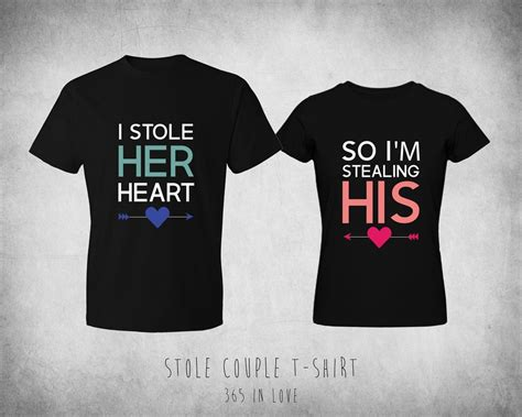 Matching Shirts For Couples Shirts Elmray Digital Printing Services