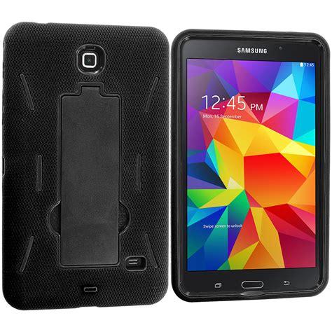 Second Samsung Galaxy Tab 4 8 Inch hybrid rugged stand cover for samsung galaxy tab 4 8 0 8 inch ebay