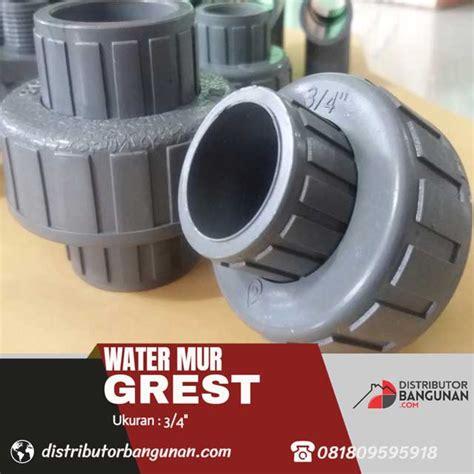 Watermur 3 4 Galvanis Water Mur 3 4 Besi water mur 3 4 grest distributor pipa pvc perlengkapan air