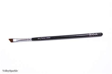 317 Angled Eyeliner Brush zoeva complete eye set review photos part 2