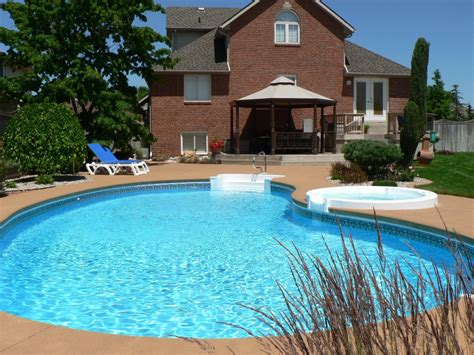 Backyard Pool by Backyard Landscaping Ideas Swimming Pool Design