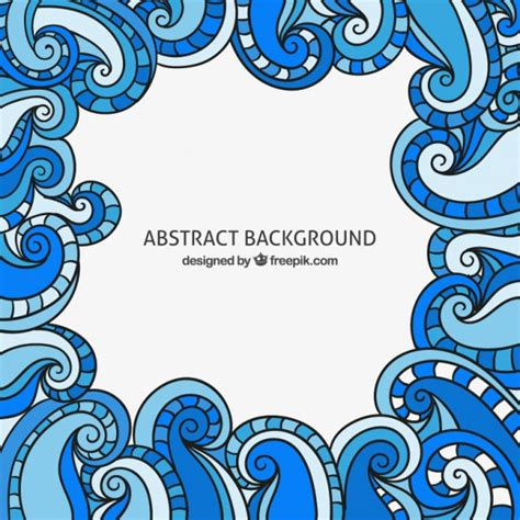 doodle background doodles background in curly style vector free