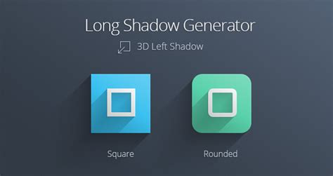 photoshop template long shadow long shadow generator psd miscellaneous pixeden