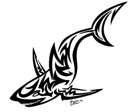 tribal shark tattoo designs 62 best shark designs ideas