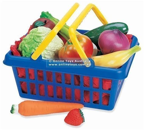 play fruit pretend and play fruit and vegetable basket