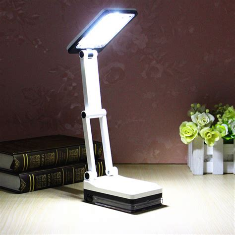 Portable Lighted Desk by Portable Folding Led Reading Light Rechargeable Table