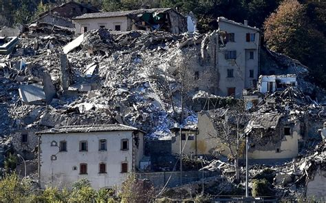 earthquakes  battering central italy