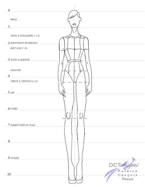 fashion illustration measurements croquis part ii dctdesigns creative canvas