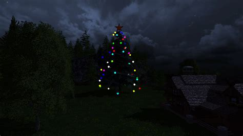 christmas tree v 1 0 for fs 15 farming simulator 2017