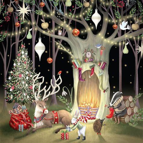 reuben mchugh night  christmas holidays   christmas illustration christmas