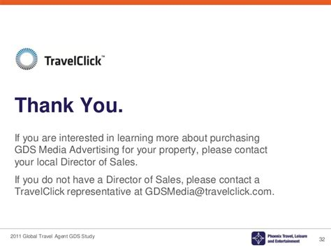 thank you letter to client from travel 2011 global travel gds media research study
