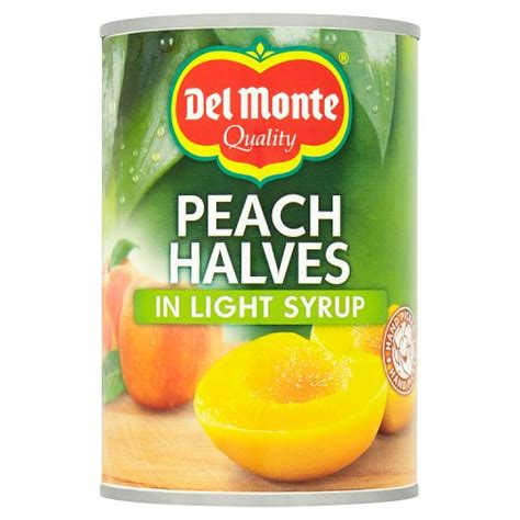 Delmonte In Syrup monte halves in syrup