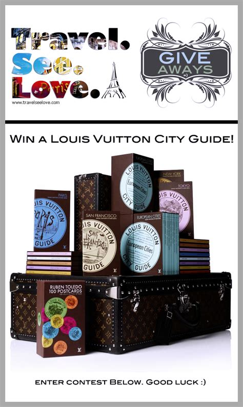 Giveaway City - louis vuitton city guides giveaway travelseelove