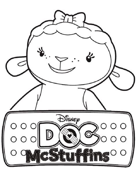 doc mcstuffins coloring page doc mcstuffins coloring pages free printable doc
