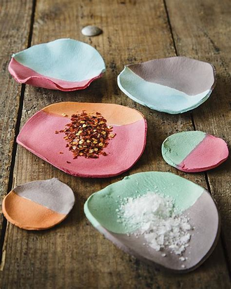 Paper Clay Crafts - paper clay spice bowls sweet paul magazine