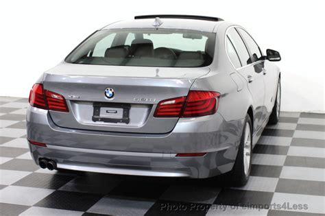 2013 used bmw 5 series certified 528xi xdrive awd sedan