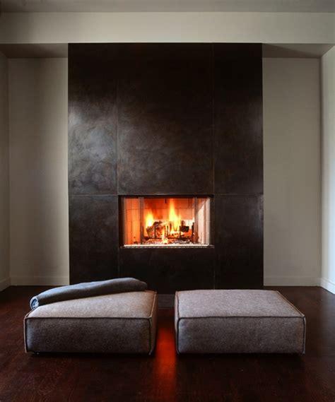 idee cheminee design 60 id 233 es chemin 233 e pour une chambre chaleureuse