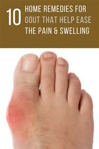 10 home remedies for gout that help ease the swelling