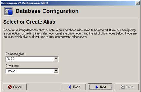 django test create test database for alias primavera p6 database connection configuration details