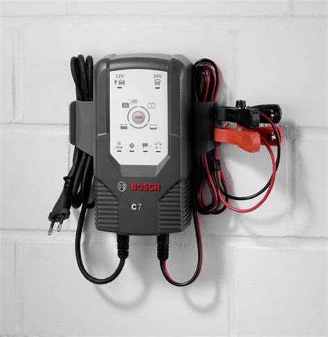 bosch 24v battery charger bosch c7 12 24 volt 6 mode battery charger and maintainer
