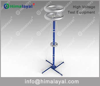 capacitor impulse test hid 2200kv 400pf weak ding capacitor voltage divider 1000kv range himalayal high voltage