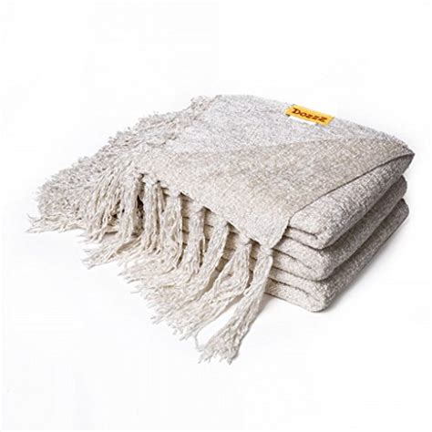chenille throw blankets for sofa free shipping dozzz decorative throw blanket sofa couch