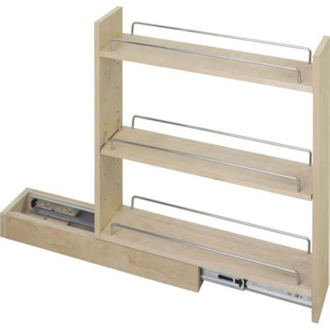 Pull Out Spice Rack Hardware by Kitchen Cabinet Base Cabinet Pullout 5 Quot X 21 Quot X 24 Quot