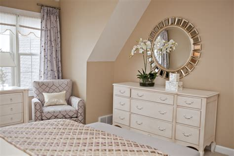 Bedroom Decorating Ideas Cheap magnificent mirrored dresser in bedroom contemporary with