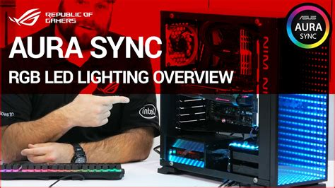 how to sync rgb lights to music z270 how to aura sync rgb led lighting overview youtube