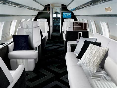 private jet interiors stunning private jet interiors a glimpse inside 9 luxury