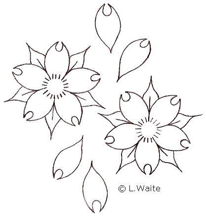 Cherry Blossom Branch Drawing Outline by 17 Best Ideas About Outline Drawing On Sunflower Illustration