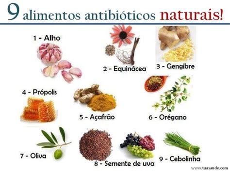 alimentos antibioticos naturais faz bem  saude
