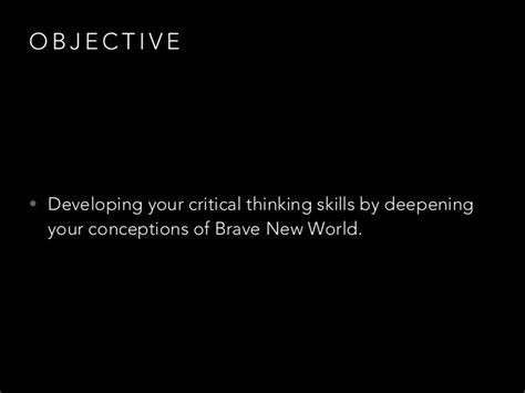 theme of stability in brave new world project based learning spiritualiti in brave new world