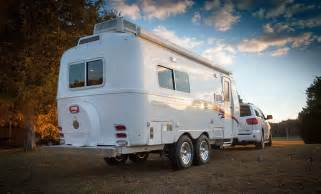Travel Trailer With King Bed Oliver Travel Trailers Fiberglass Travel Trailers