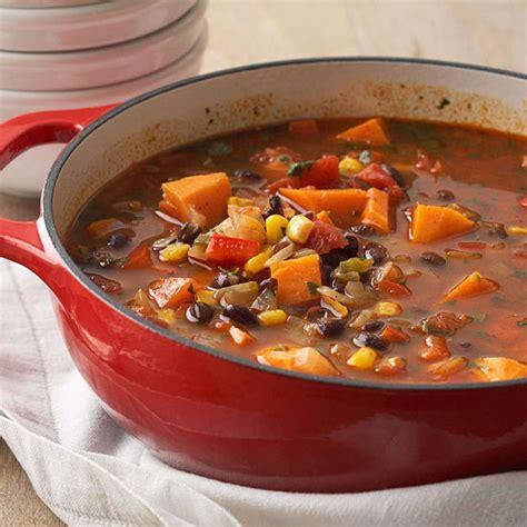 sweet potato black bean stew