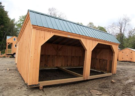 Run In Shed Kits by Stall Kits Prefab Run In Sheds Jamaica Cottage Shop