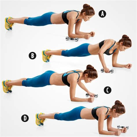 5 ways to tone your abs with weights
