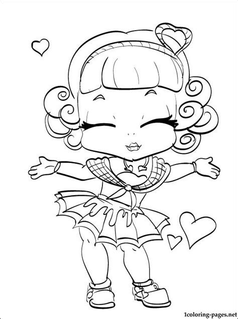 monster high coloring pages cupid free coloring pages of high cupid
