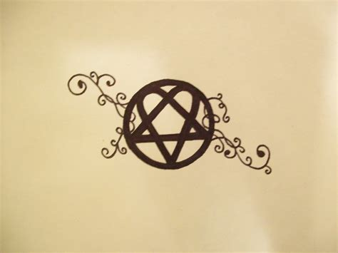 heartagram tattoo heartagram image gallery