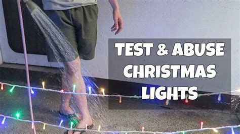 how to test christmas lights testing lights