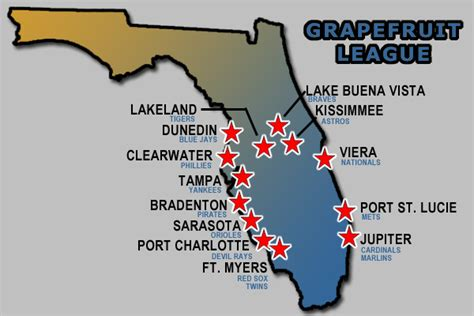 grapefruit league map next major league expansion team should be more than just in diamondbacks and