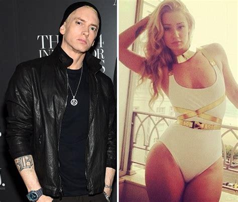 Eminem To Ex Shut It by Fury As Rapper Eminem Threatens To Iggy Azalea In
