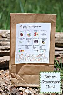 Backyard Scavenger Hunt Nature Scavenger Hunt For Free Printable Five
